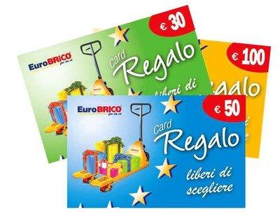Card regalo Eurobrico