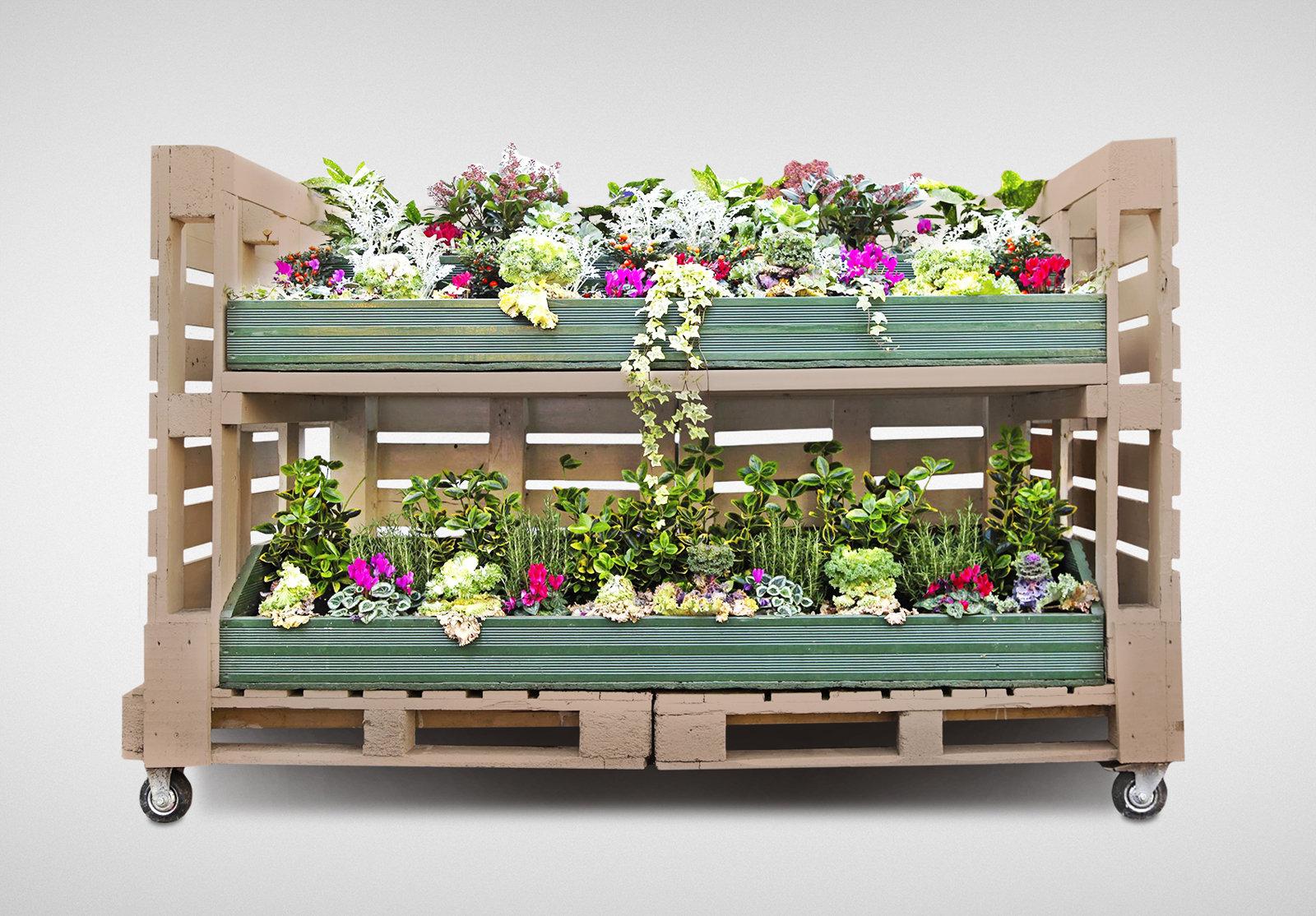 Mobili Da Giardino Con Pallet arredare il tuo giardino con i pallet:scopri come!