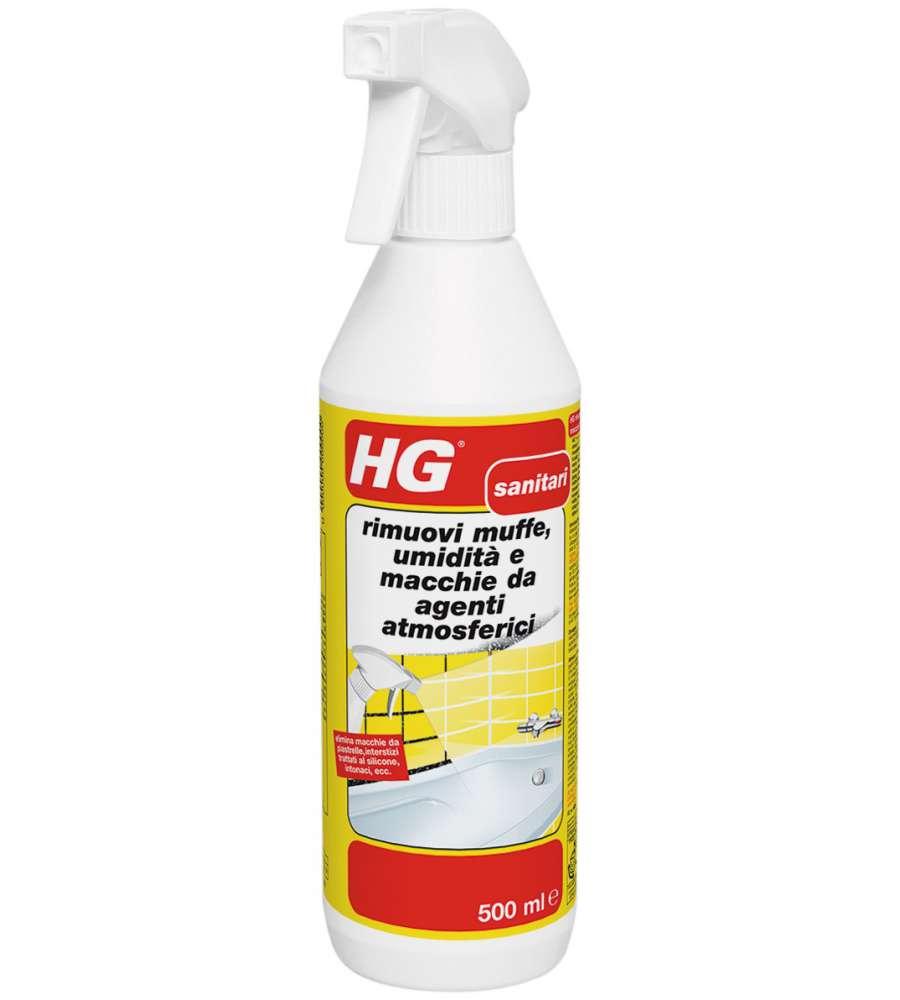 Hg rimuovi muffe umidit e macchie da agenti for Pulitore di cabina