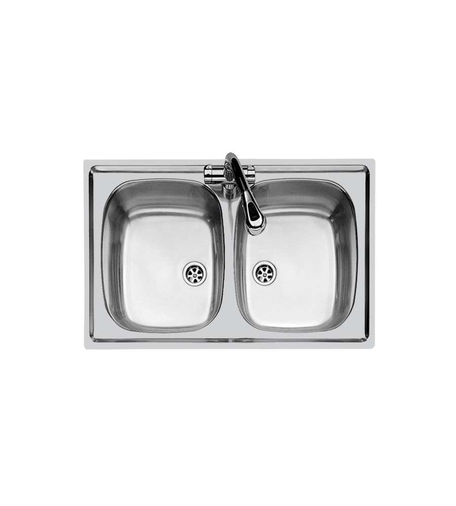 Inox 2 Vasche 86x50