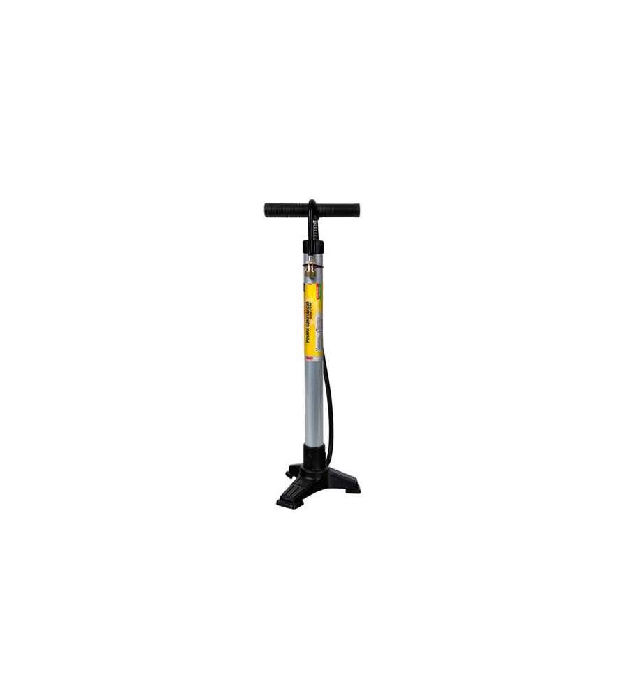 Pompa per bicicletta tre piedi in acciaio for Bicicletta per tre persone