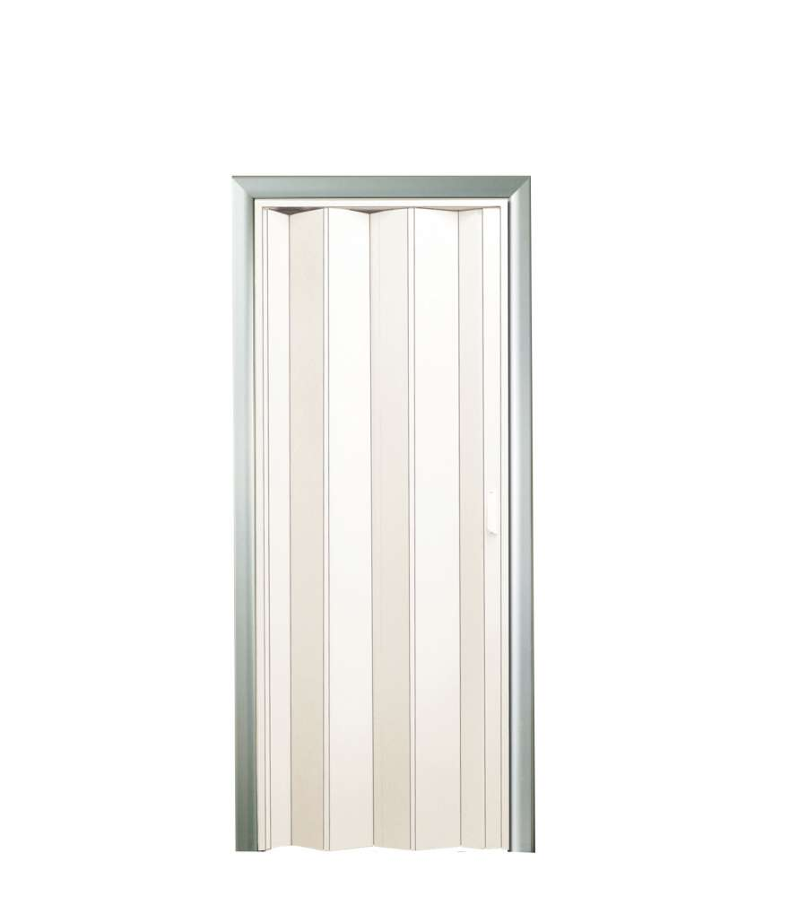 Porta a soffietto bianca 82x210 cm for Porta pieghevole a libro leroy merlin