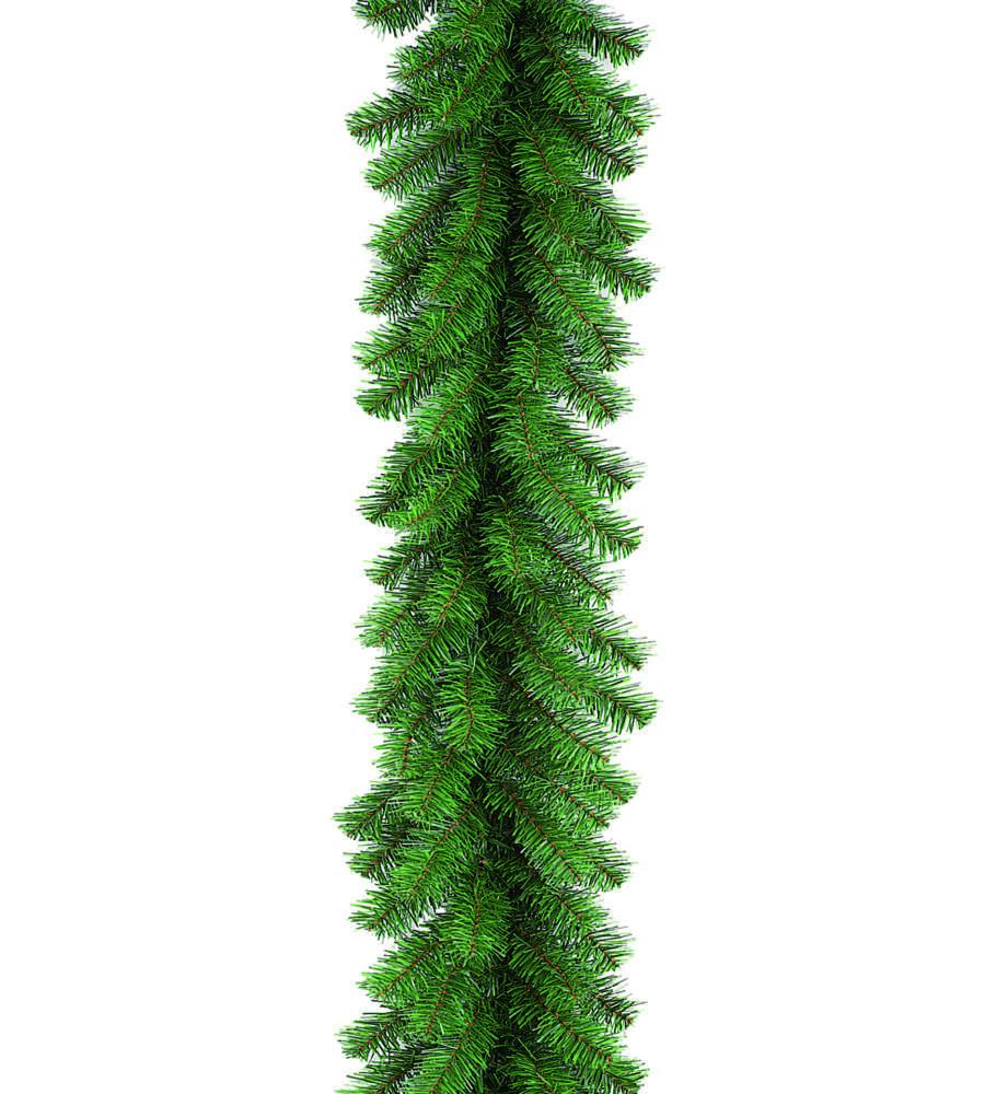757 2.7 Metri Ghirlanda Artificiale Lunga di Natale con Bacche e Fiocchi in Materiale Ignifuga Decorazioni Natalizie per Camino Porta Parete Scale