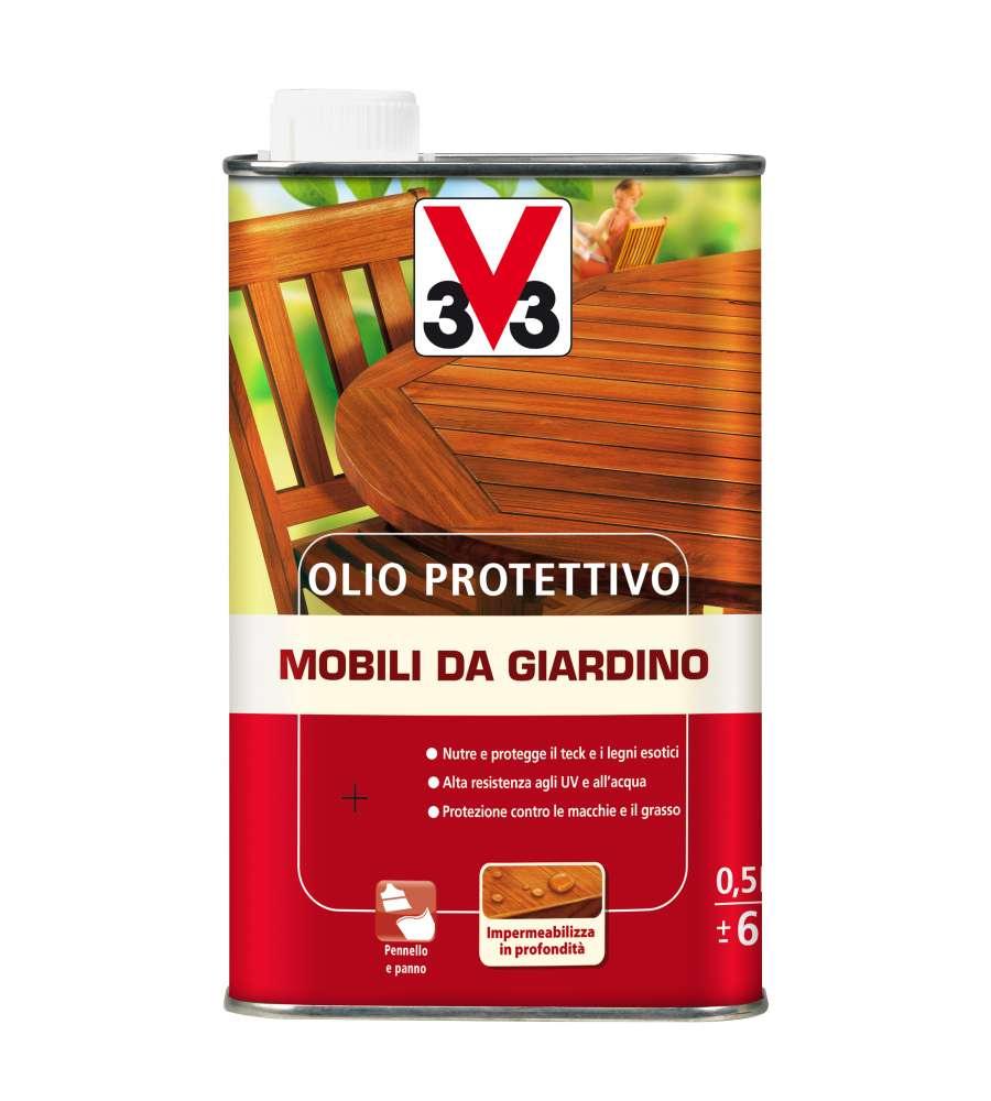 Olio Protettivo Per Mobili Da Giardino - 500 Ml.