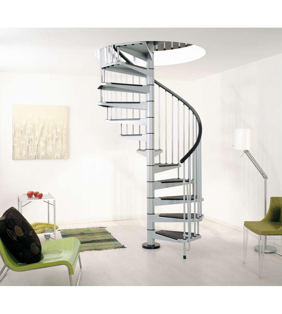 Chiocciola in kit civik 13 alzate 13 gradini diametro for Casa scala a chiocciola