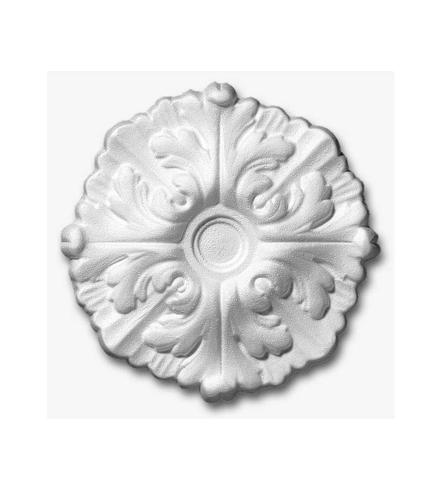 Rosone daphne diametro 22 cm knauf for Rosoni in polistirolo