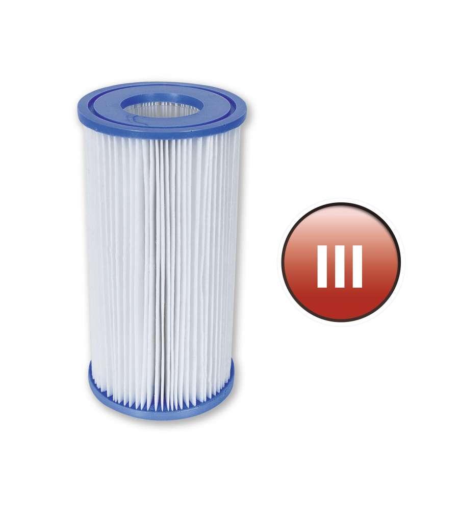 Filtro a cartuccia iii a per pompe da lt ora bestway for Pompe e filtri per laghetti da giardino