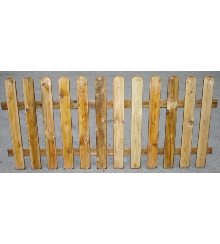 Recinto in legno di pino a lamelle 100x180h cm for Recinto in legno