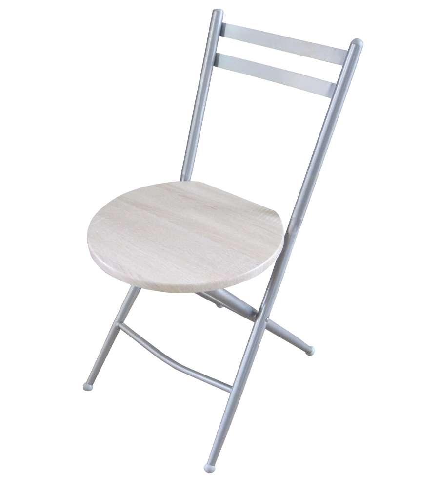 Sgabello Alluminio Pieghevole.Sedia Sgabello Pieghevole Modello London In Alluminio