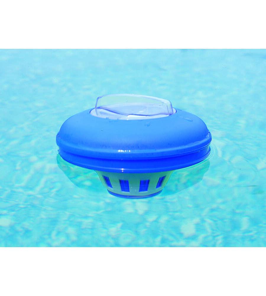 Gre dispenser cloro medio da cm 16 5 per pastiglie da - Pastiglie piscina ...