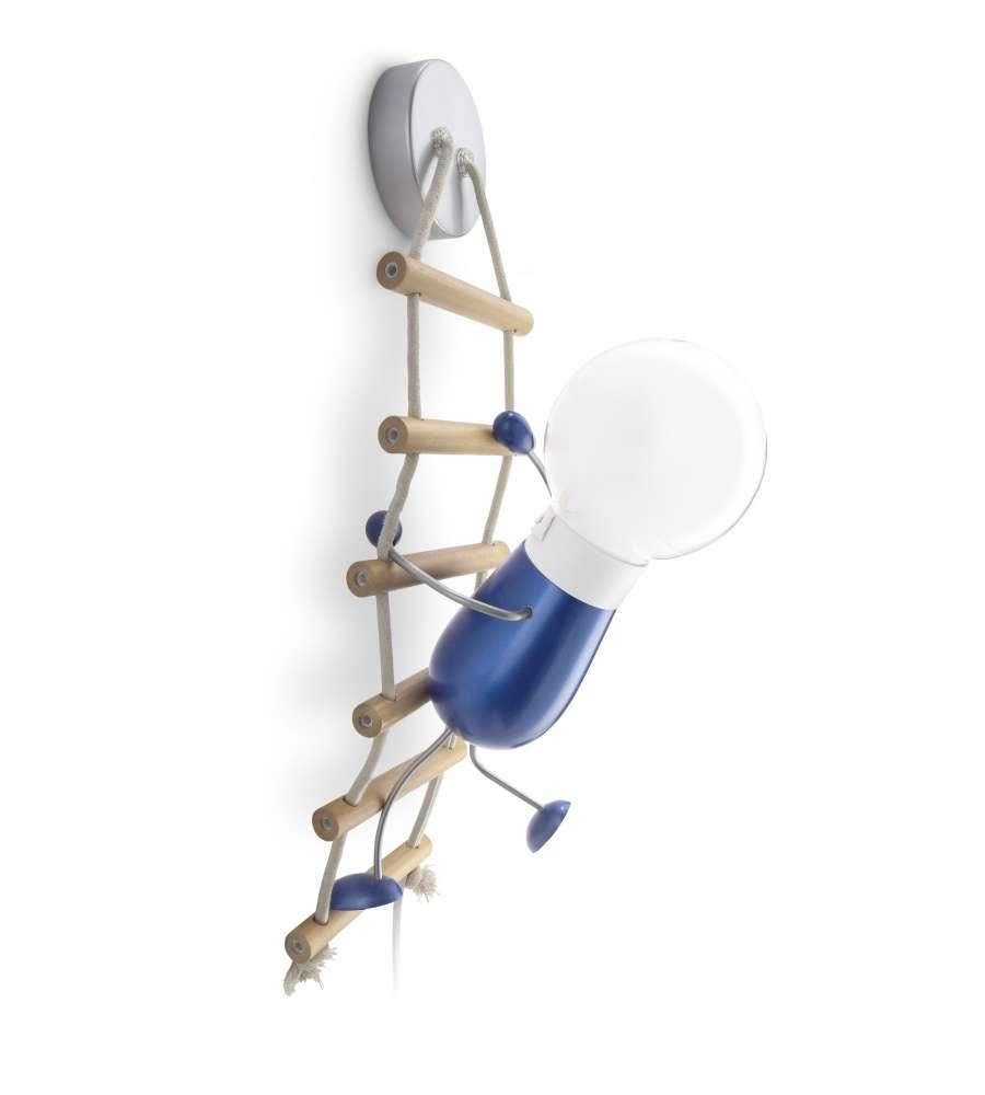Applique lampada climbo omino sulla scala philips 12 w for Sedia elettrica che sale le scale