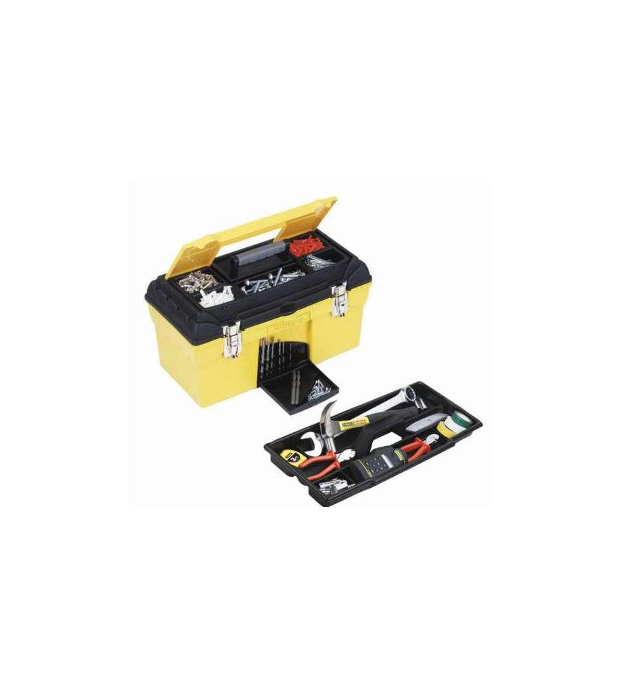 Cassetta porta attrezzi condor 19 pollici - Cassetta porta attrezzi stanley con ruote ...