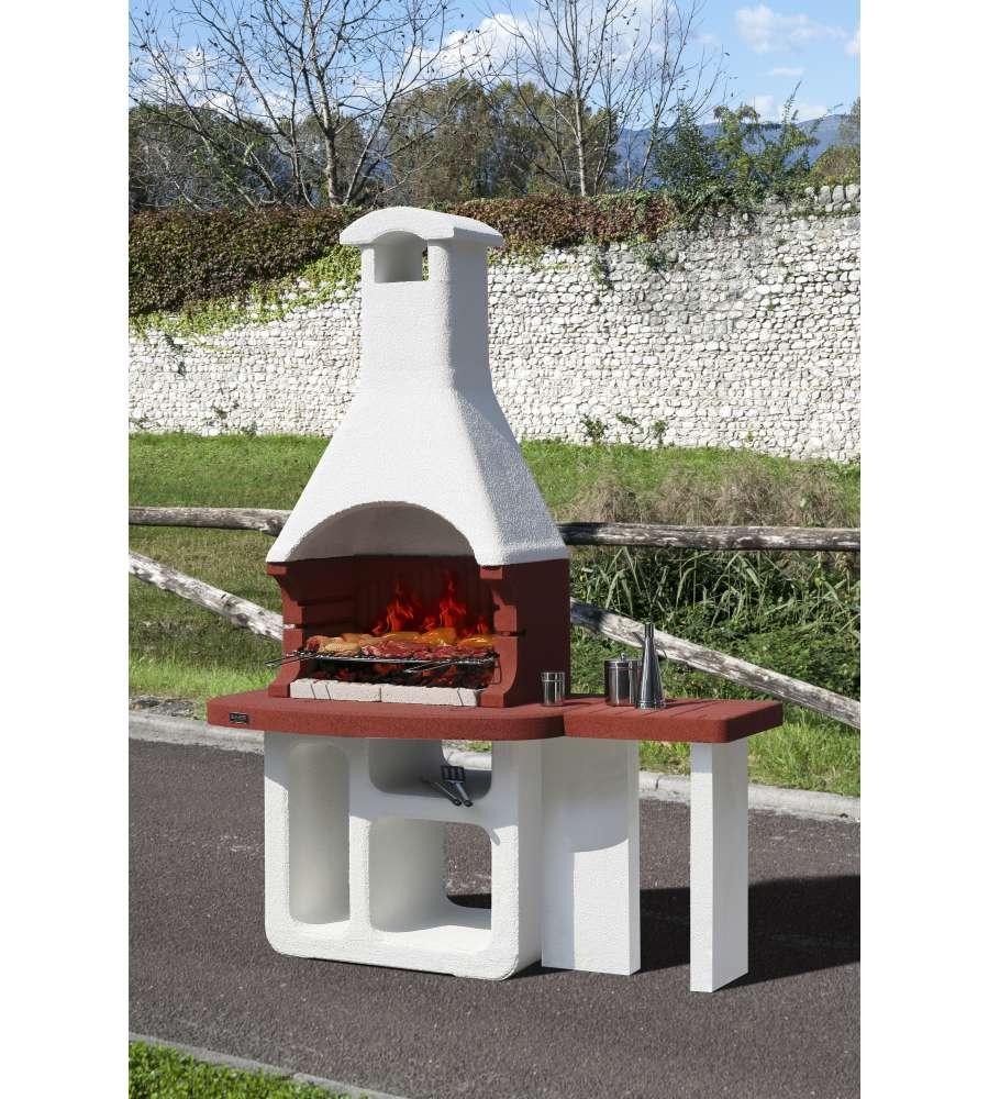 Barbecue sunday valencia in muratura per esterno - Scale per esterno in muratura ...
