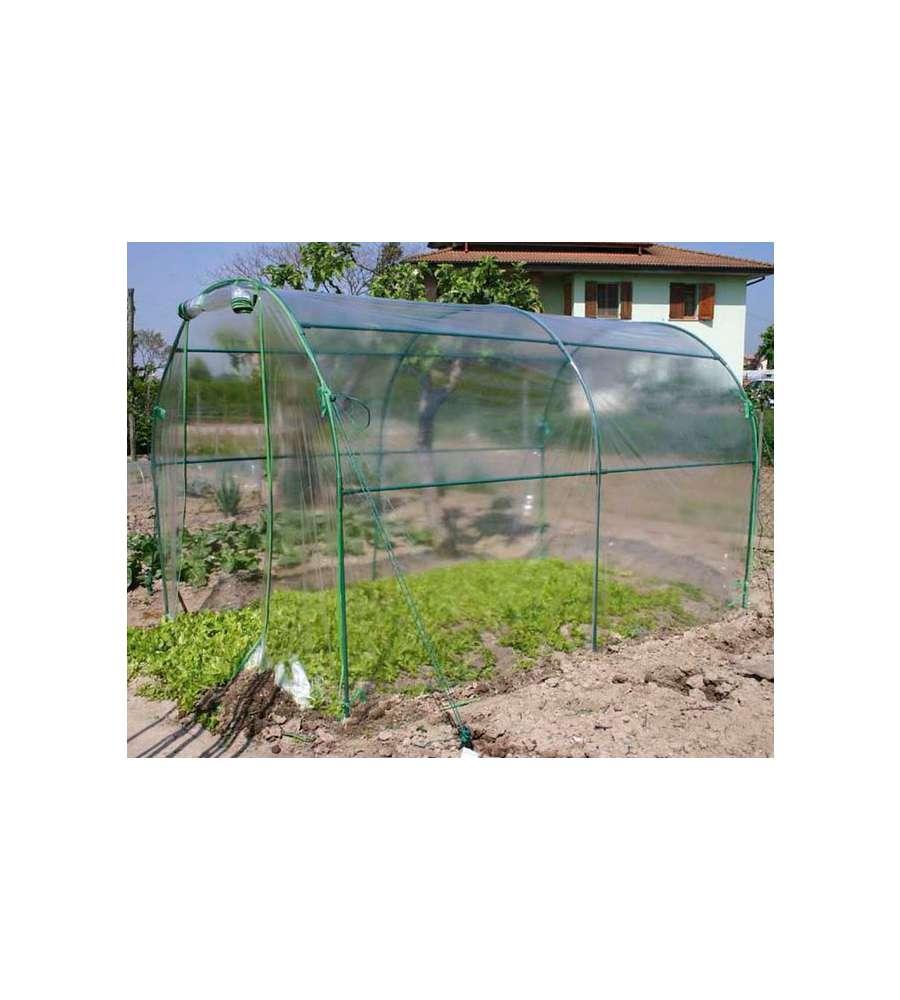 Serra per orto serra premium tunnel 200x300x180h cm for Serre da giardino leroy merlin