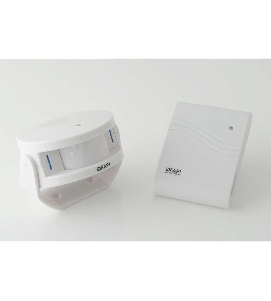 Allarme via radio senza fili con portata massima di 100m for Allarme senza fili