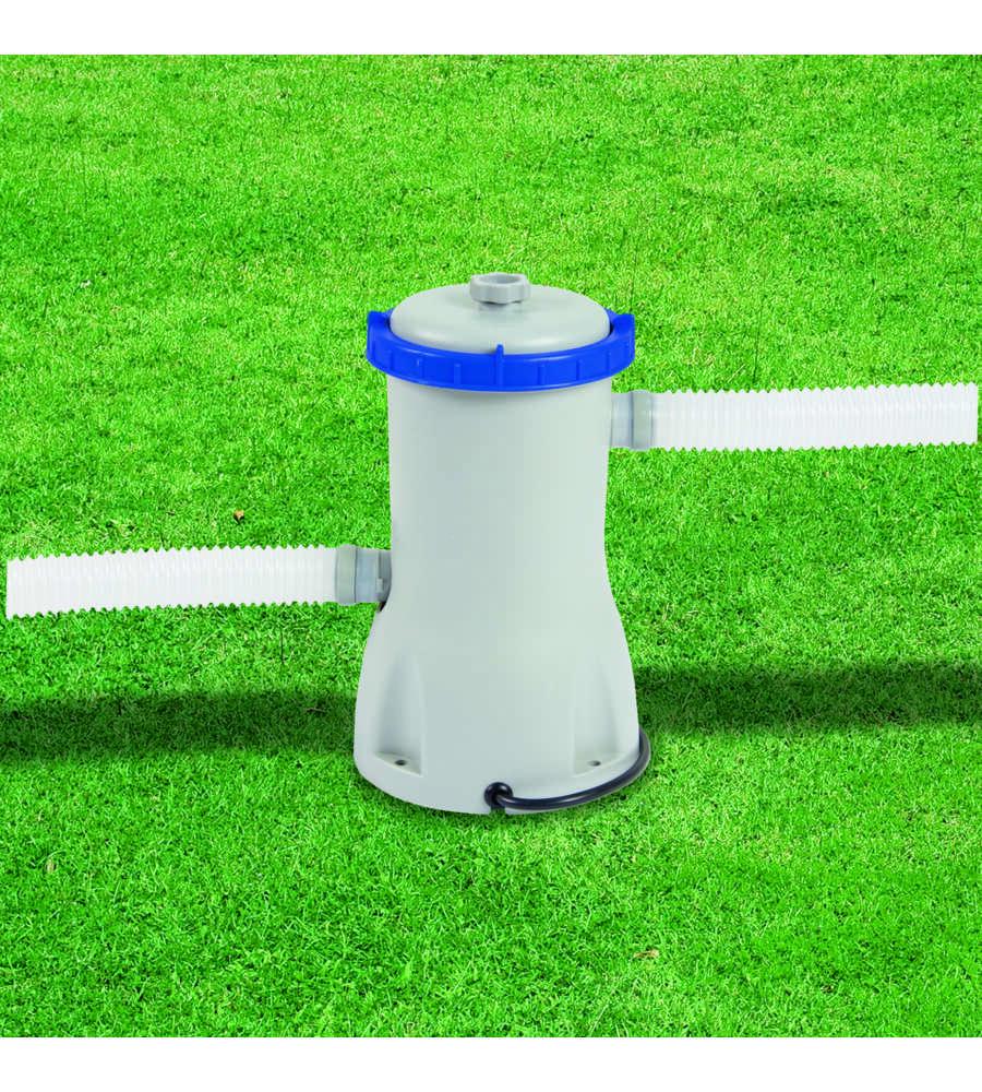 Pompa per piscina con filtro a cartuccia ii bestway for Filtri piscina
