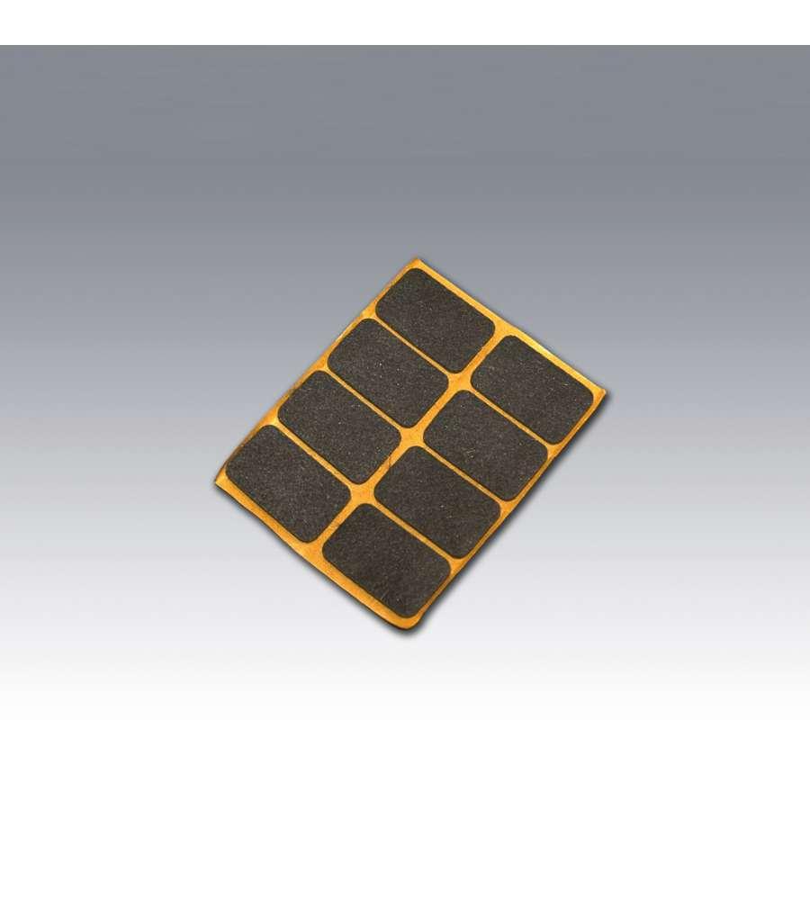 Feltrini 20x20 adhesivo marrone - Feltrini mobili ...