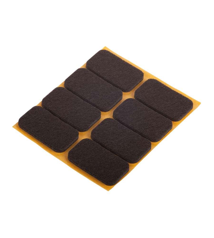Feltrini 22x36 adhesivo marrone - Feltrini mobili ...