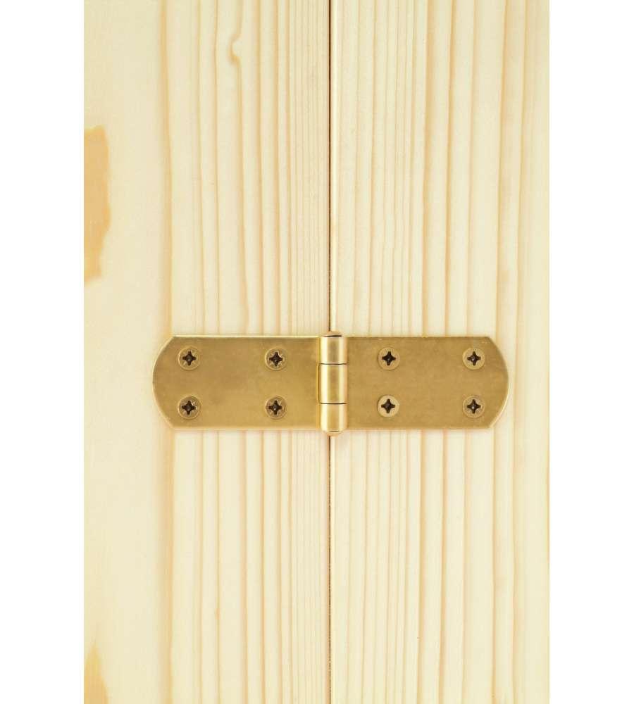 Cerniere per porte e finestre 300mm zincate giallo - Cerniere per finestre ...