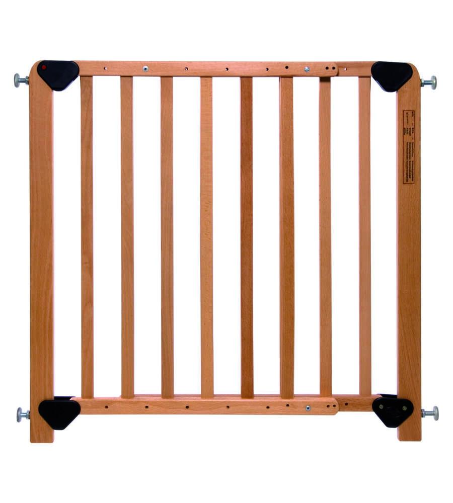 cancelletto di sicurezza in legno massello per bambini