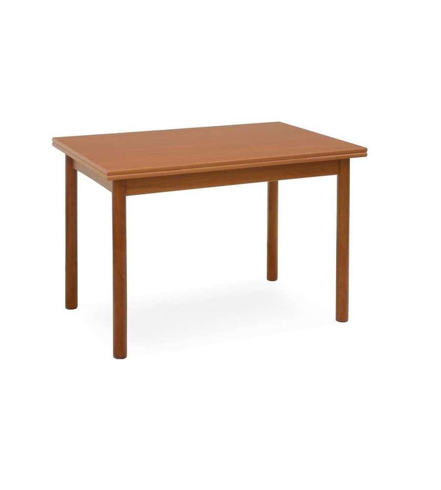 Tavolo pisa allungabile color ciliegio 80 x 80 cm for Tavolo consolle 80 cm