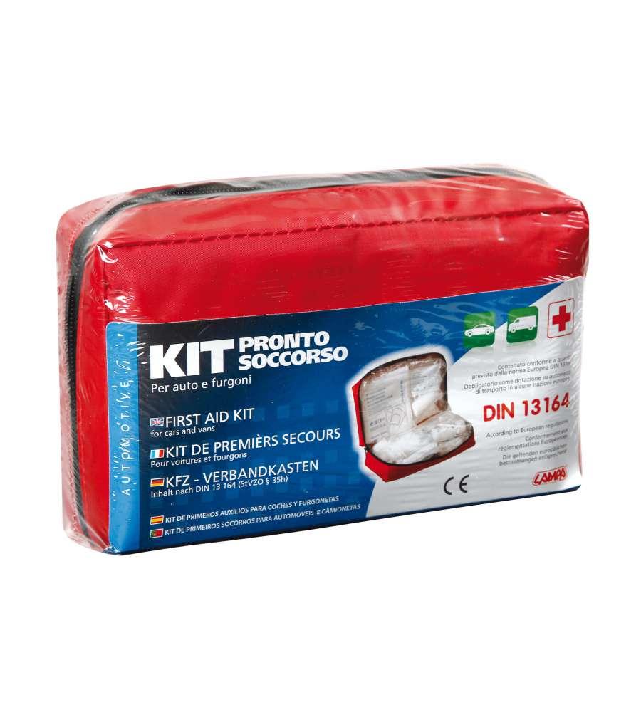 Kit pronto soccorso per auto for Kit per posto auto coperto