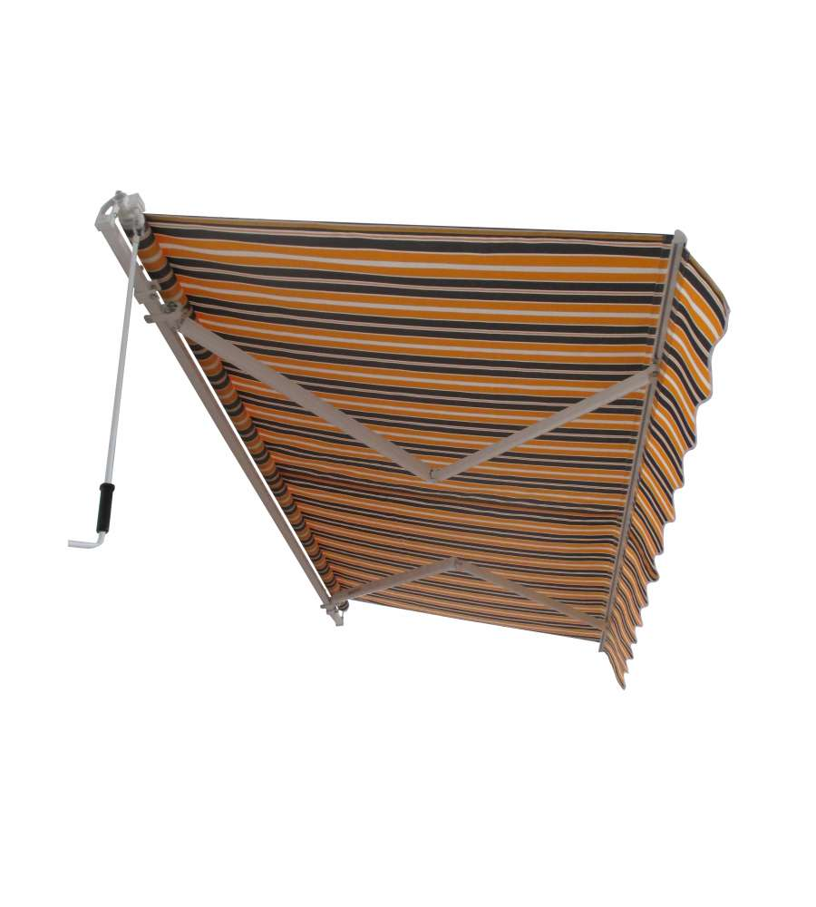 Tende Da Sole.Offerta Tenda Da Sole Con Copertura Impermeabile 3 X 2 Metri Con Avvolgimento Manuale