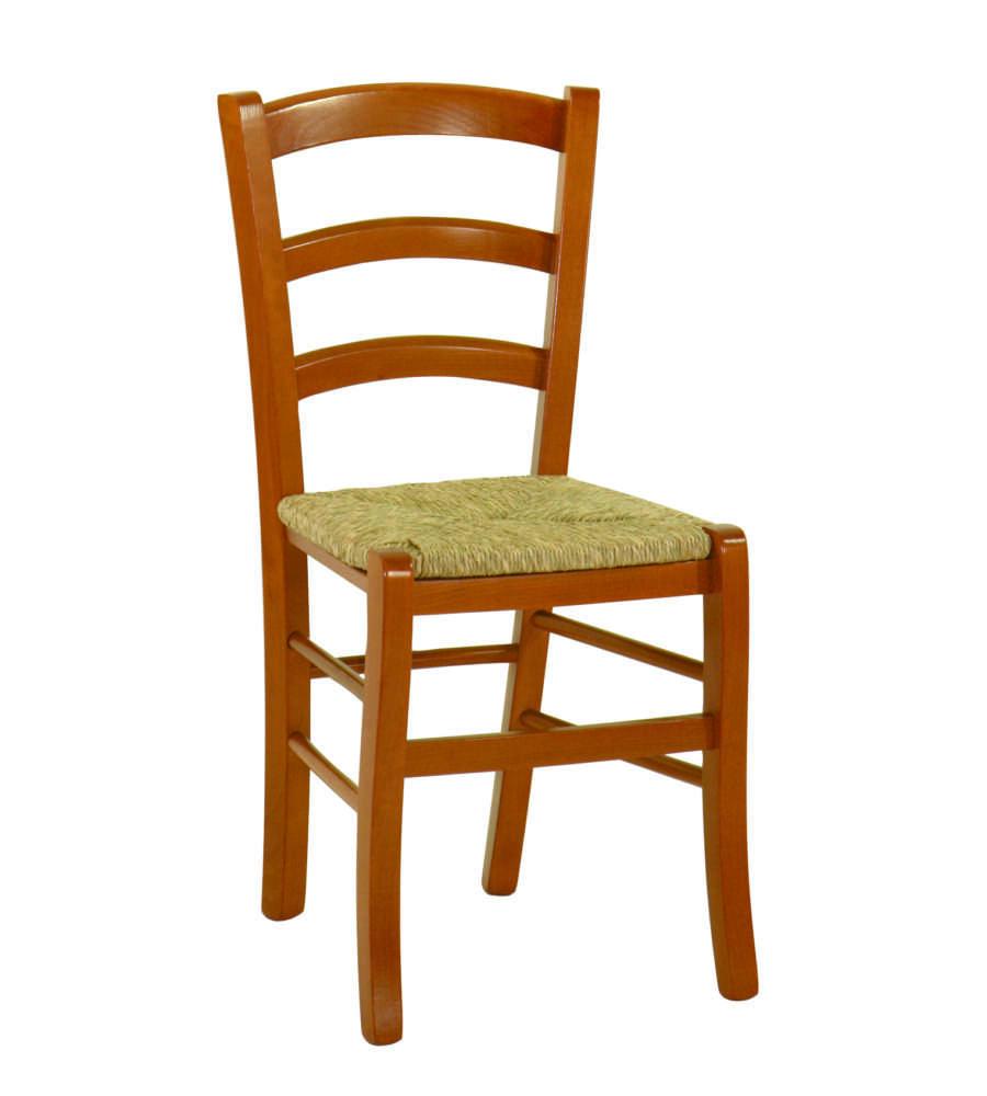 Sedie In Legno Ciliegio.Sedia In Legno Modello Friuli Colore Ciliegio