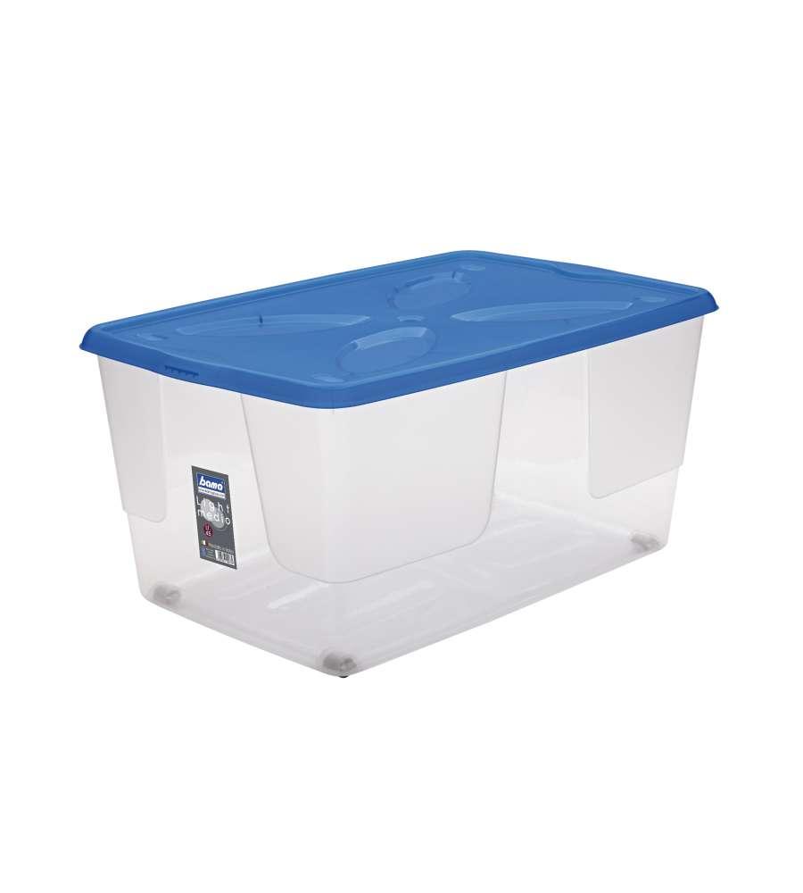 Contenitore light medio 45 litri for Contenitori per esterni in plastica