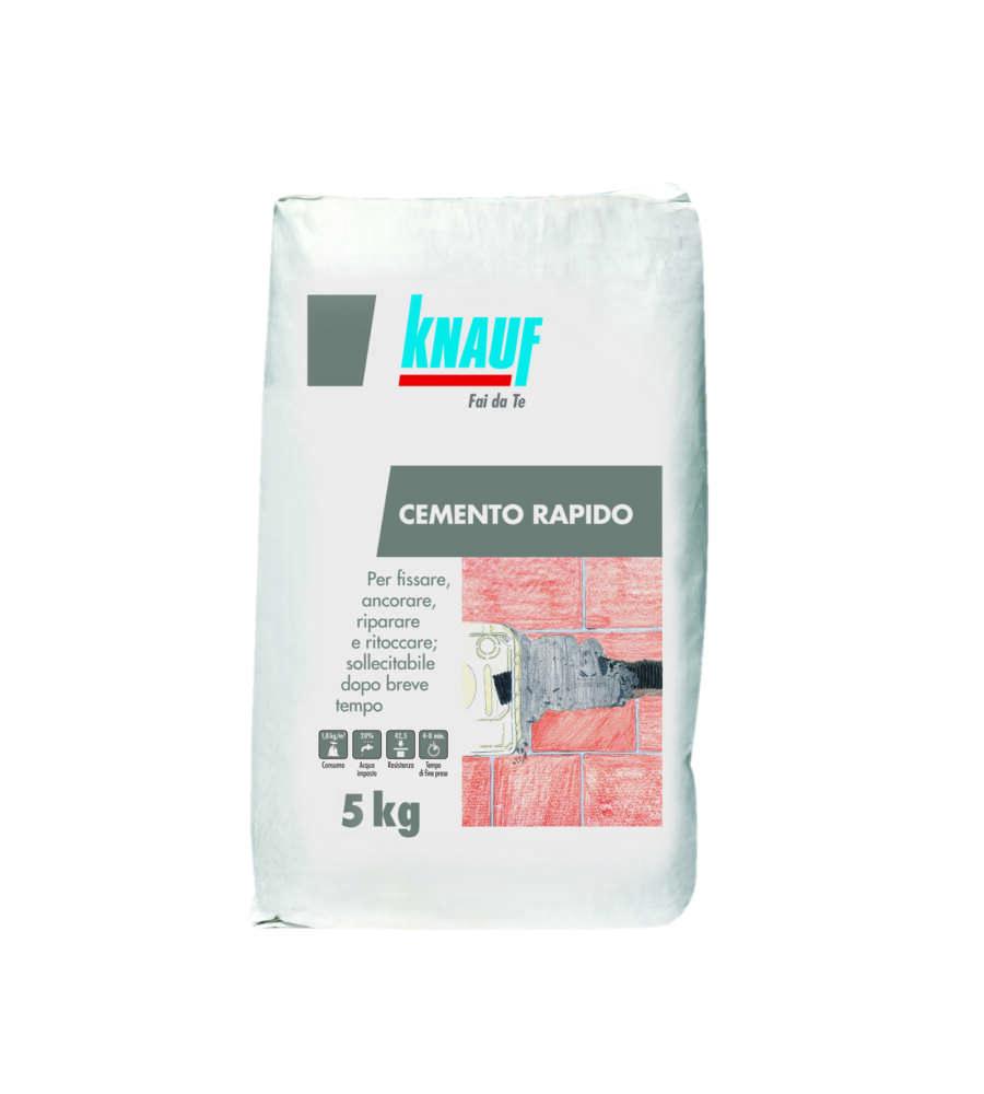 Cemento rapido 42 5r sacco da 1 kg knauf - Cemento rapido precio ...
