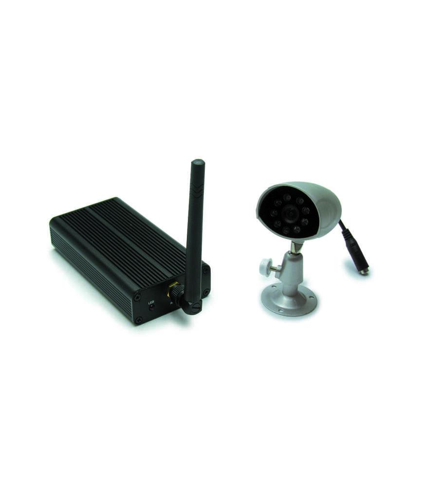 Kit Di Videosorveglianza Wireless A Colori.