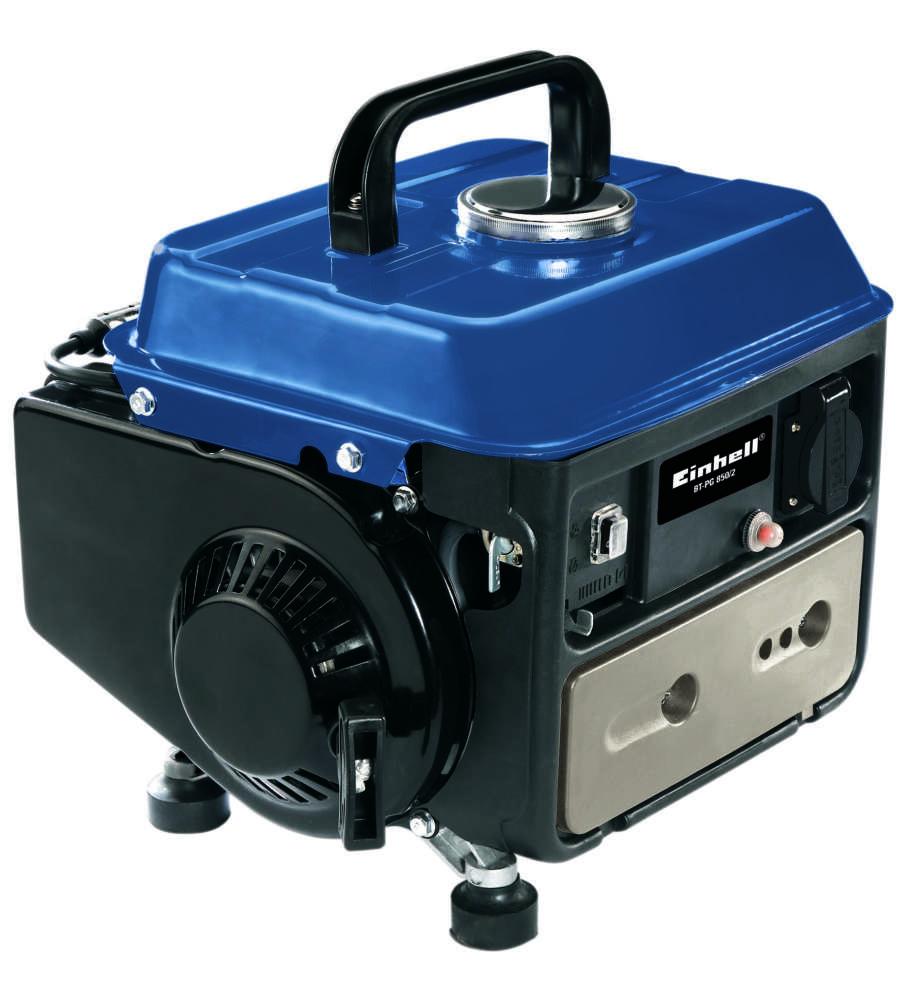 Generatore di corrente bt pg 850 2 blue line einhell for Generatore di corrente lidl