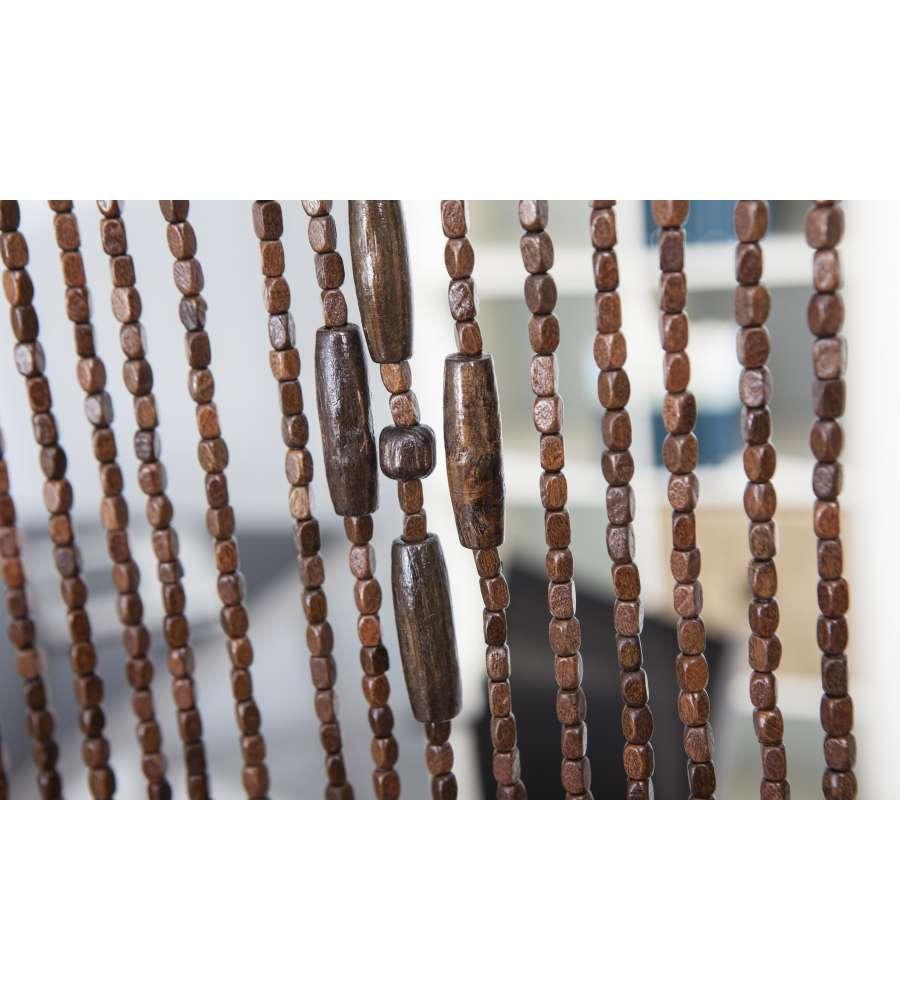 Tenda in legno colore marrone 120x240 cm - Tende bambu per esterno ...