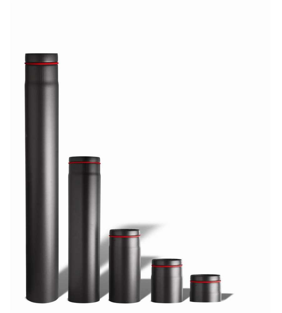 1 tubo per stufe a pellet da 100 cm diametro 80 mm - Tubi scarico fumi stufe a pellet ...