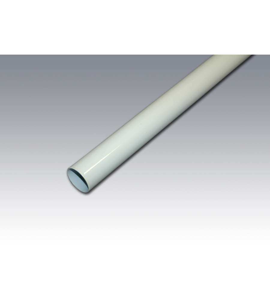 Tubo Appendiabiti Per Armadio 25x1500mm Bianco