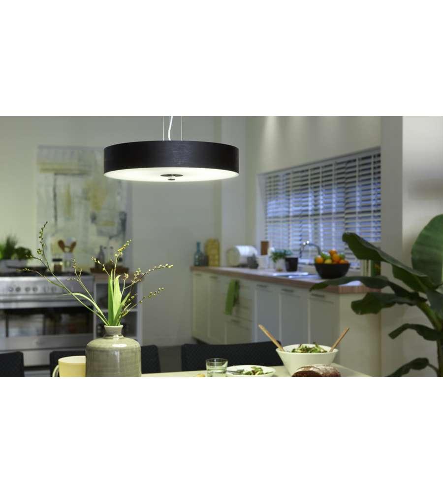 Philips sospensione circolare doppio vetro luminosita - Philips illuminazione casa ...