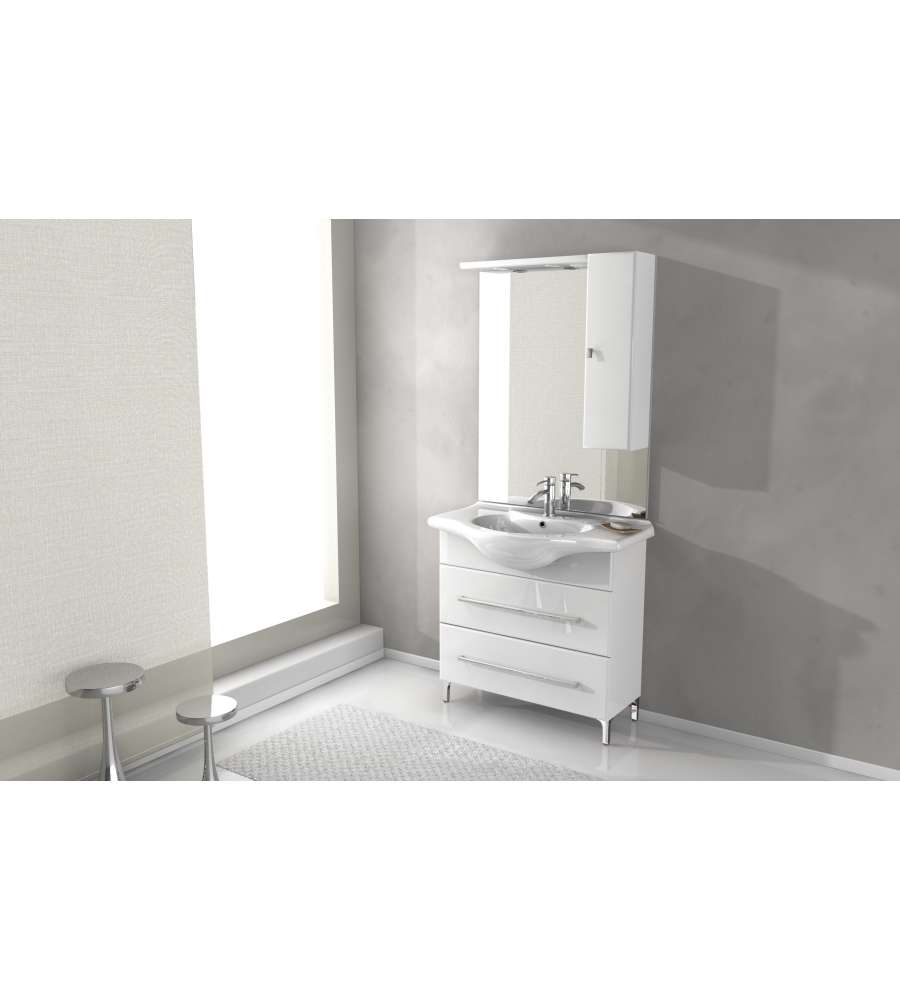 Composizione mobile bagno fashion 85 baden haus for Amazon arredo bagno