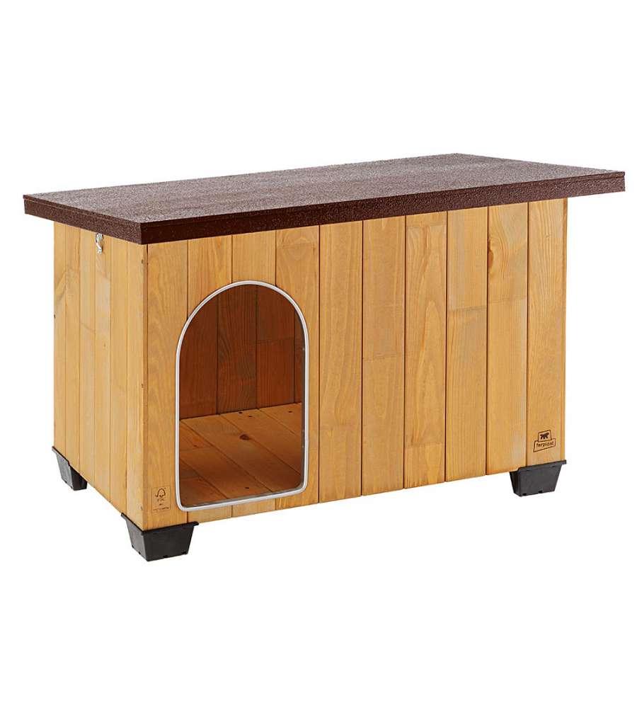 Cuccia in legno di pino nordico per cani dimensioni 102 for Cuccia per cani eurobrico