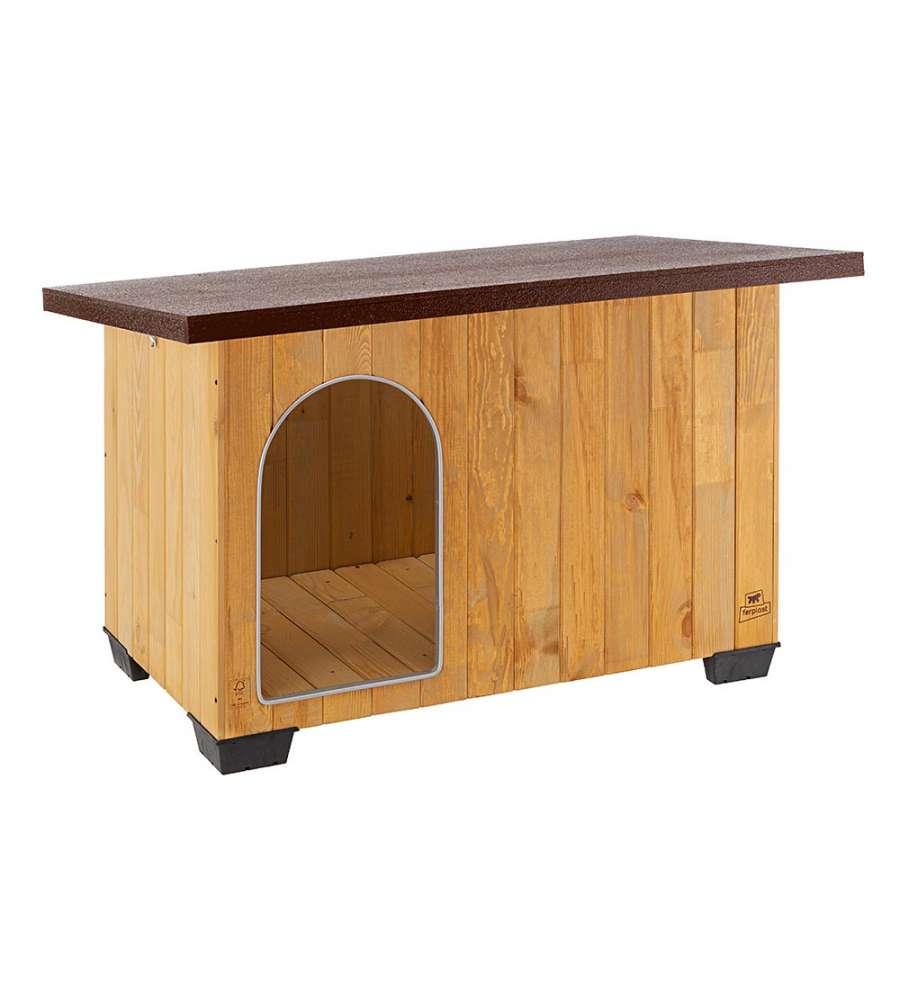 Cuccia in legno di pino nordico per cani dimensioni 122 for Cuccia per cani eurobrico