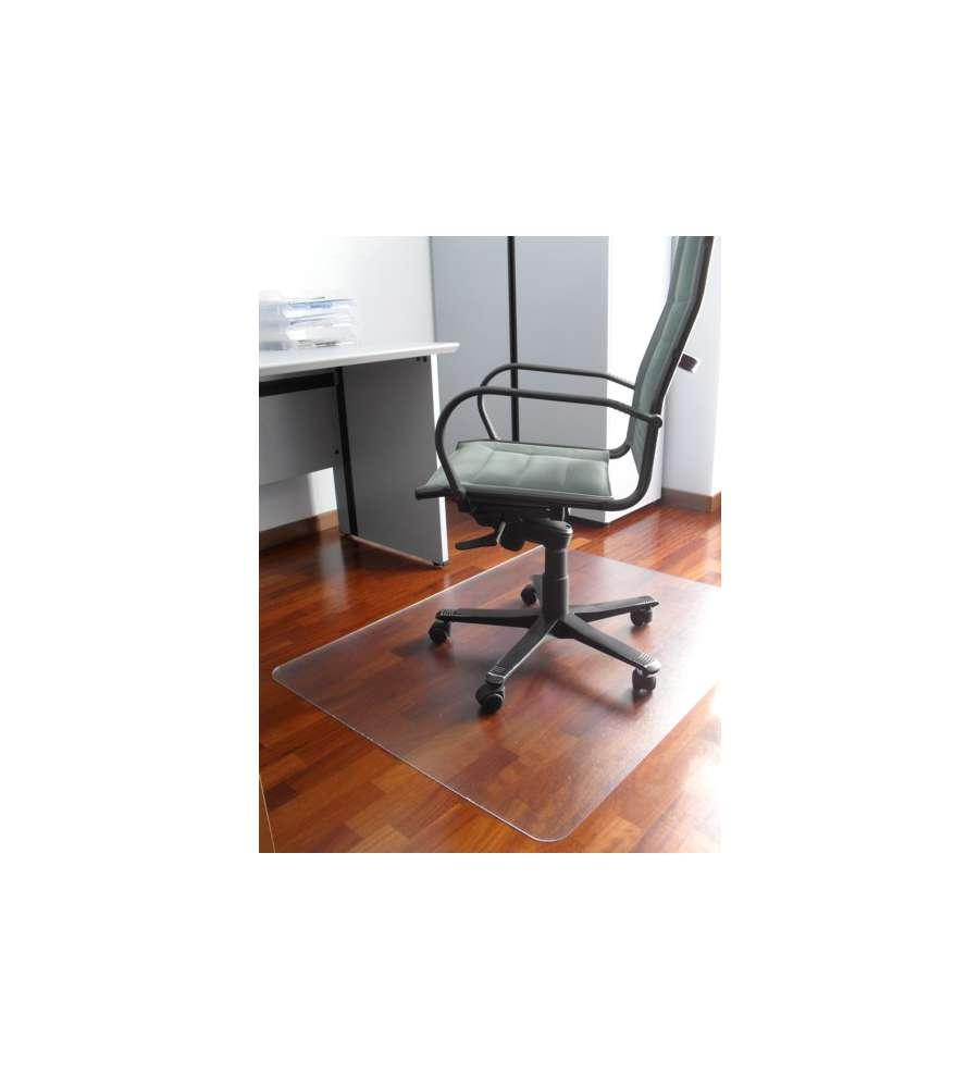 Ruote Per Sedie Ufficio Parquet.Tappetino Salva Pavimento Per Sedie E Poltrone Colore Trasparente