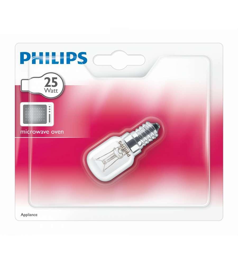philips lampadina tubolare ch t25 per forno micro onde e14 25w. Black Bedroom Furniture Sets. Home Design Ideas