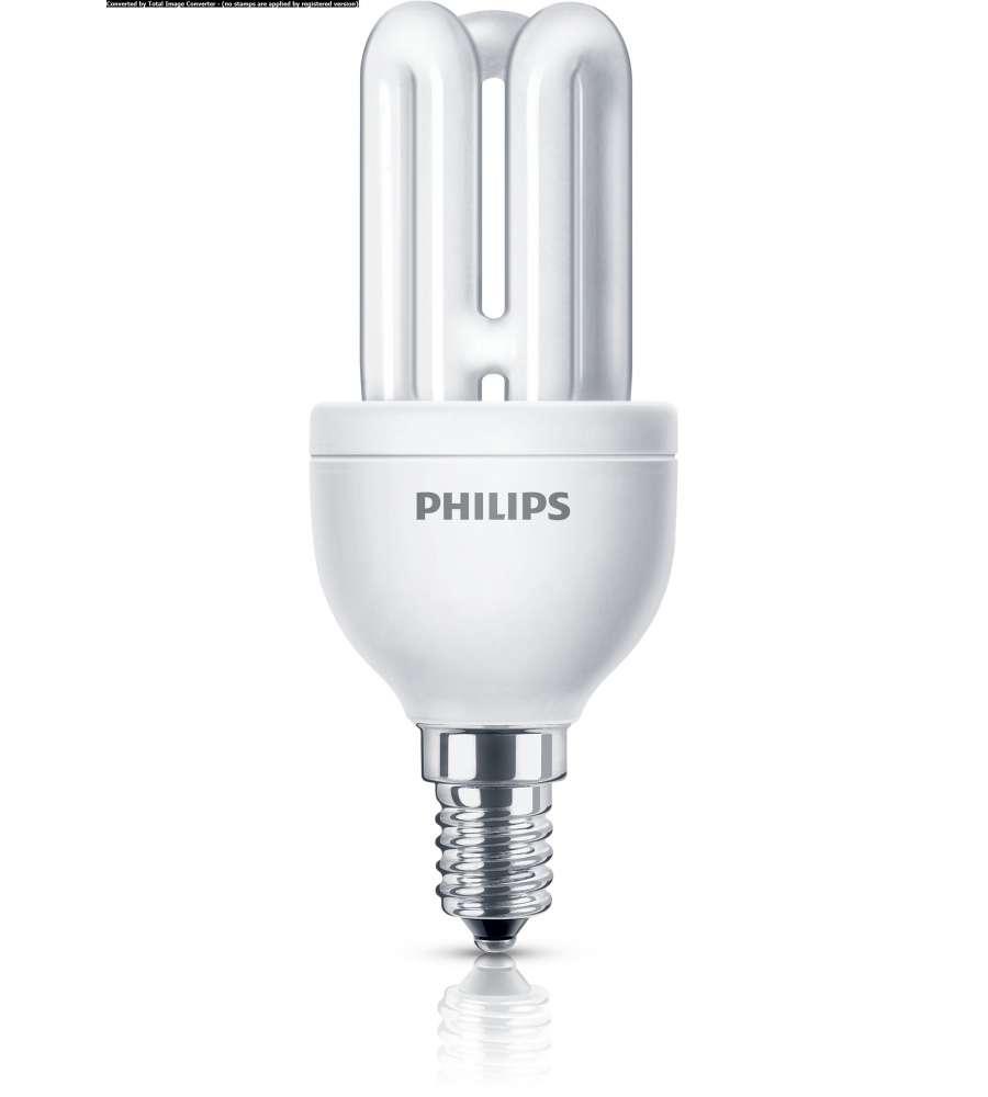 Philips lampadina genie luce fredda e14 8 w - Philips illuminazione casa ...