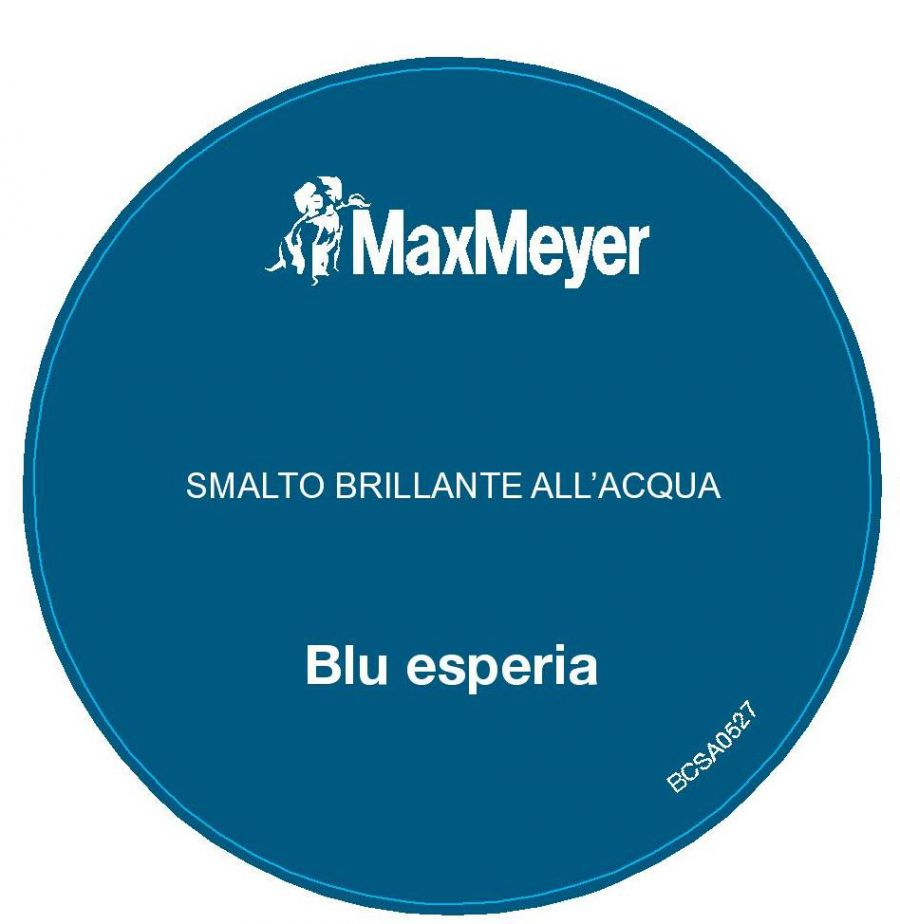 Smalto imax brillante blu esperia 2 litri for Smalto all acqua