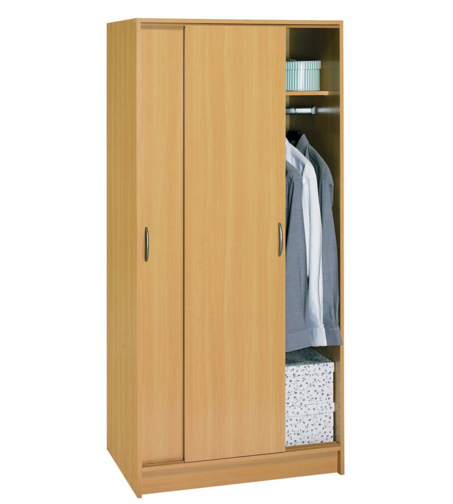 armadio 2 ante scorrevoli osiris faggio 797x501x1695h mm. Black Bedroom Furniture Sets. Home Design Ideas