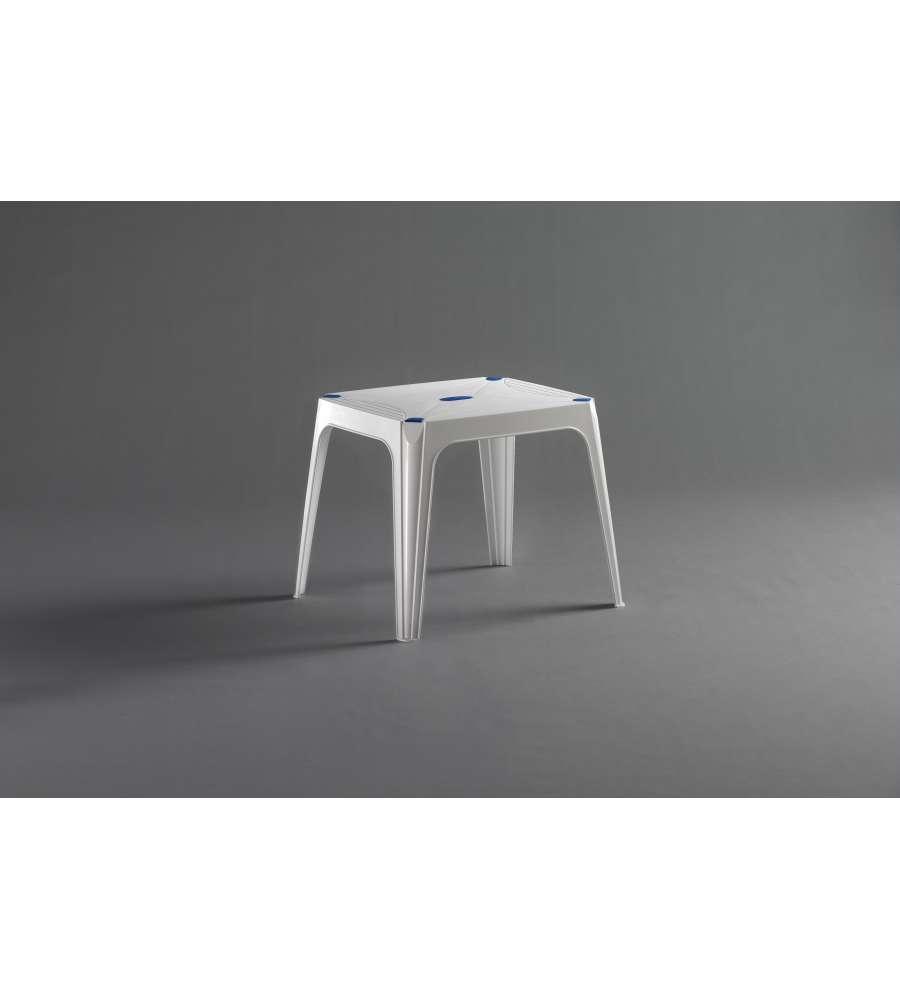 Tavolino da giardino quadrato loto relax collezione loto by