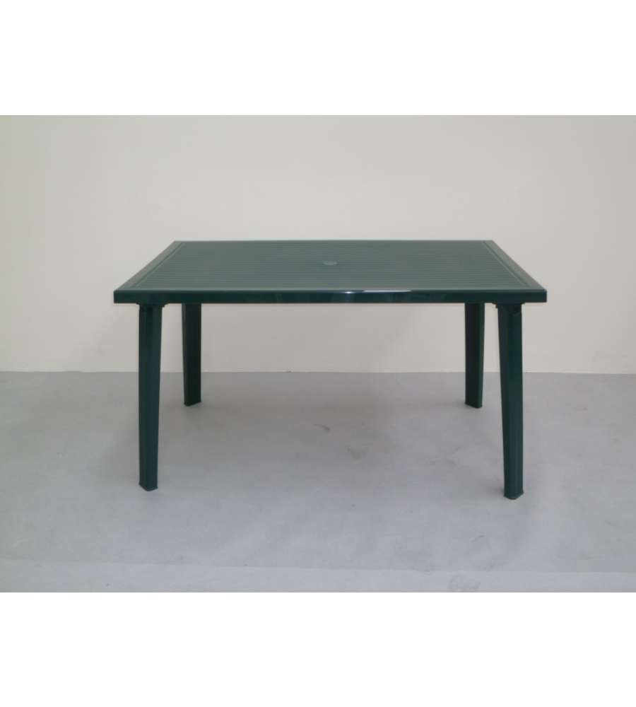 Tavolo Da Giardino Plastica Verde.Tavolo Da Giardino Verde Domingo 130x75x73 Cm
