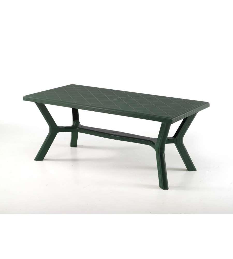 Tavoli Verde Da Giardino.Tavolo Da Giardino Carribe 175x90 Cm Verde