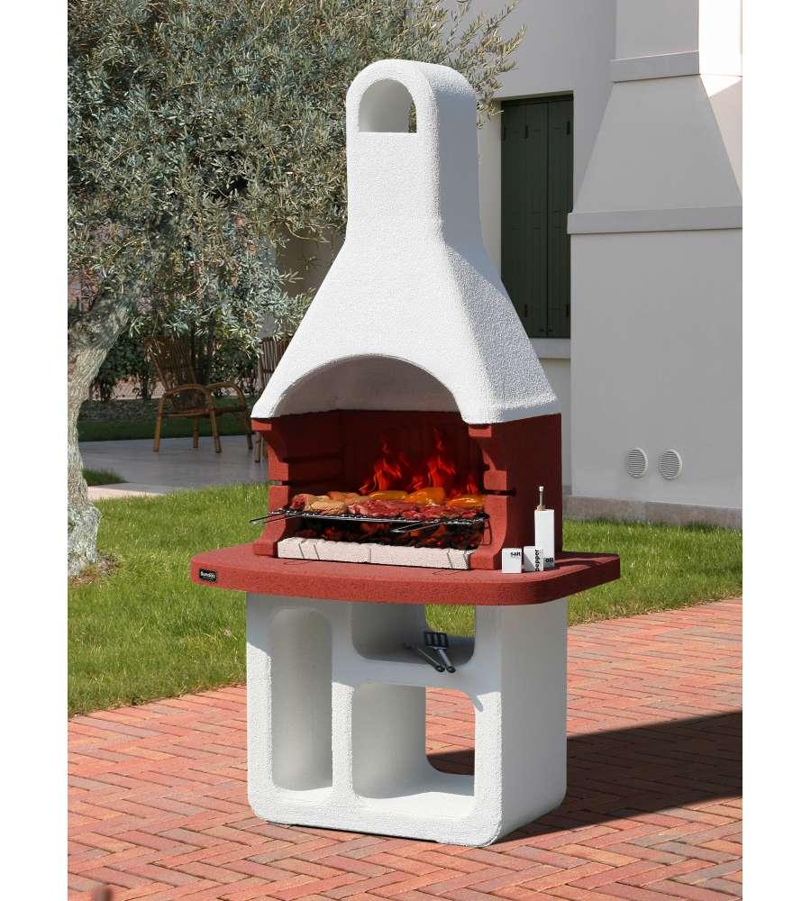 Barbecue sunday florida in muratura per esterno for Offerte barbecue in muratura