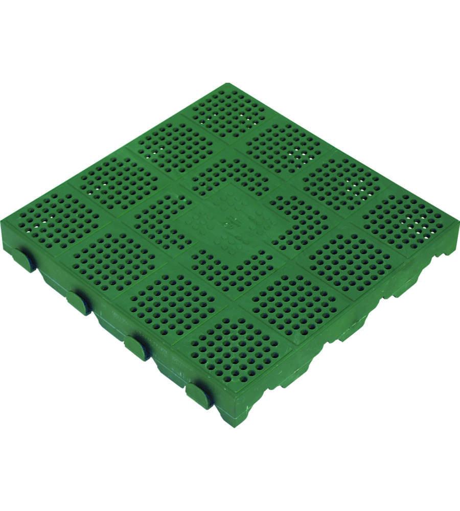 Offerta piastr autoblocc verde 400x400x45 - Piastrelle di plastica ...