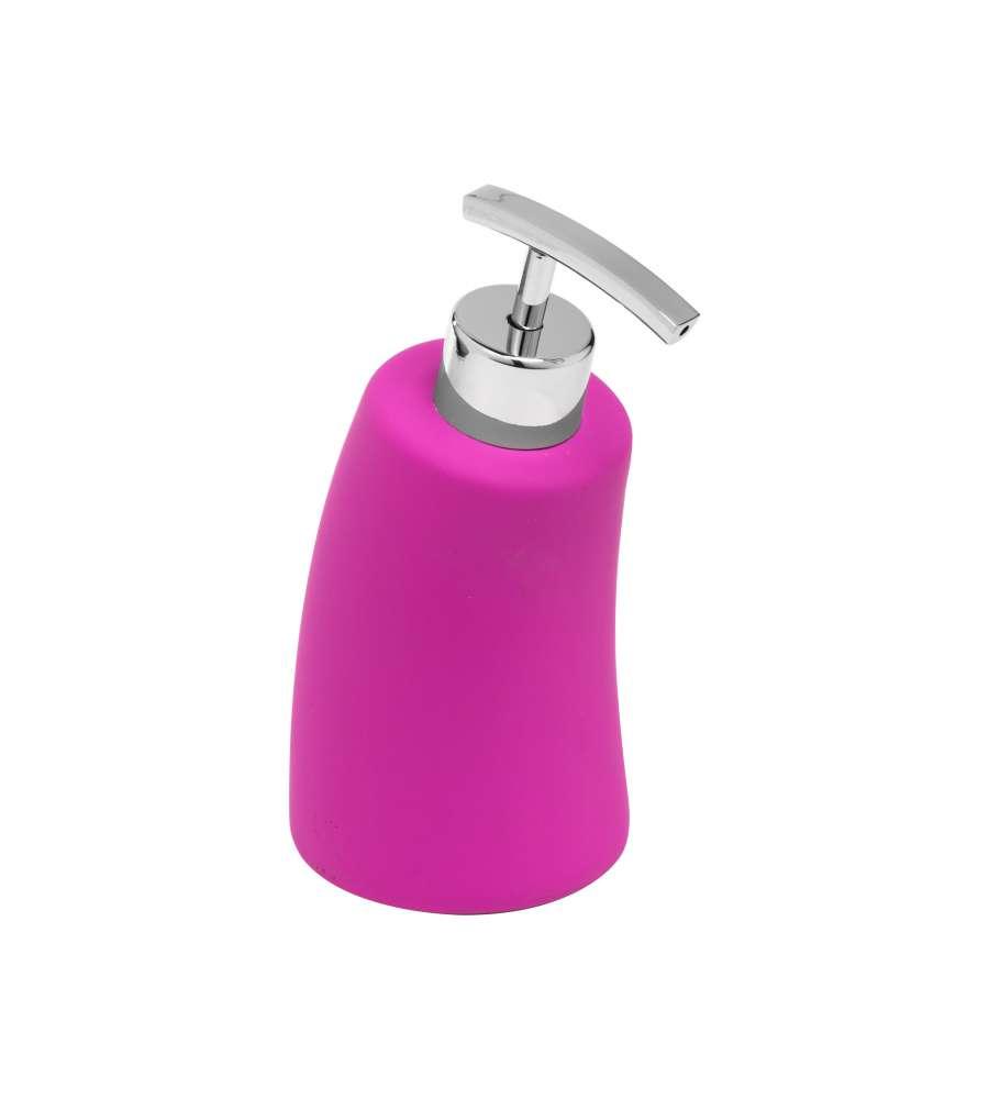 Dispenser sapone fucsia - Oggettistica bagno ...